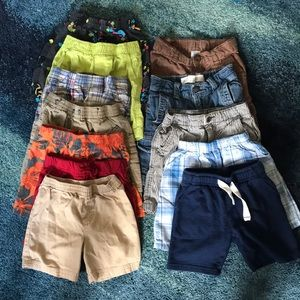 Toddler boy shorts bundle